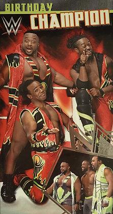 WWE Open Birthday Card