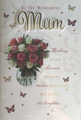 Mum Birthday Card 8 Page