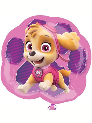 """Paw Patrol - Double Sided Supershape 25"""" Foil Balloon (Deflated)"""