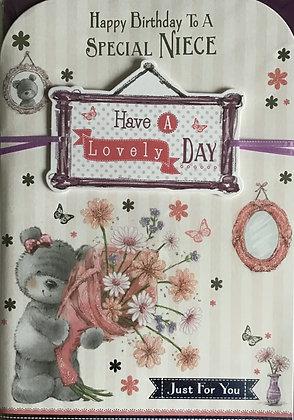Niece Birthday Card (Lge)