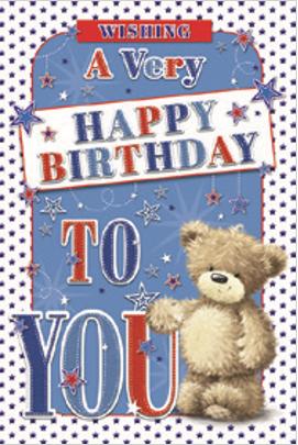 3D Open Birthday Card(C)