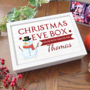 Personalised Christmas Eve Box - Snowman Design