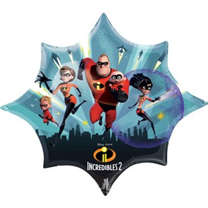 "Incredibles 2 Supershape 35"" Foil Balloon"