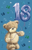 3D 18th Birthday Card