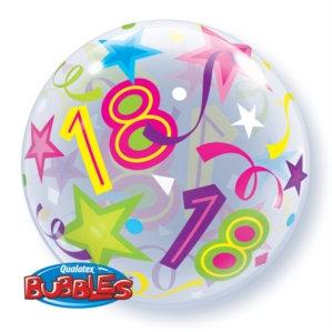 "18th Birthday 22"" Bubble Balloon"