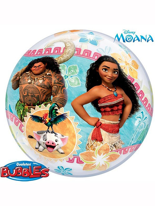 "22"" Disney Moana Bubble Balloon"