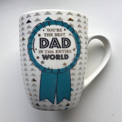Best Dad in the Entire World Mug