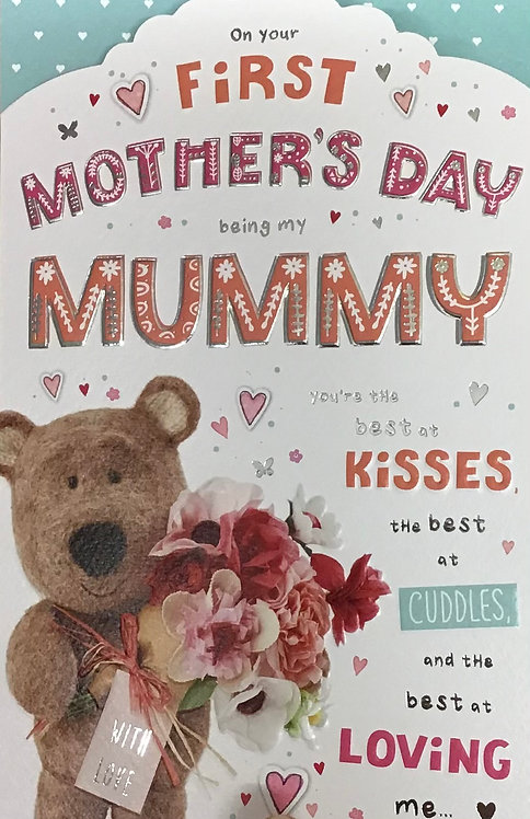 1st Mother's Day Mummy Mother's Day Card