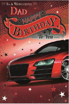 3D Dad Birthday Card(T)