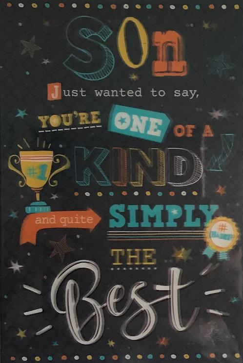 3D Son Birthday Card(T)