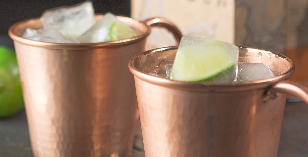 Moscow Mule Closeup