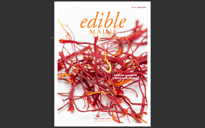 Edible Maine Saffron Cover