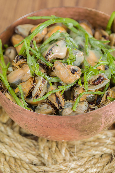 Mussel and Seabean Salad