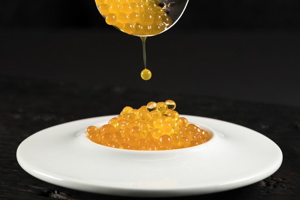 Passion Fruit Caviar