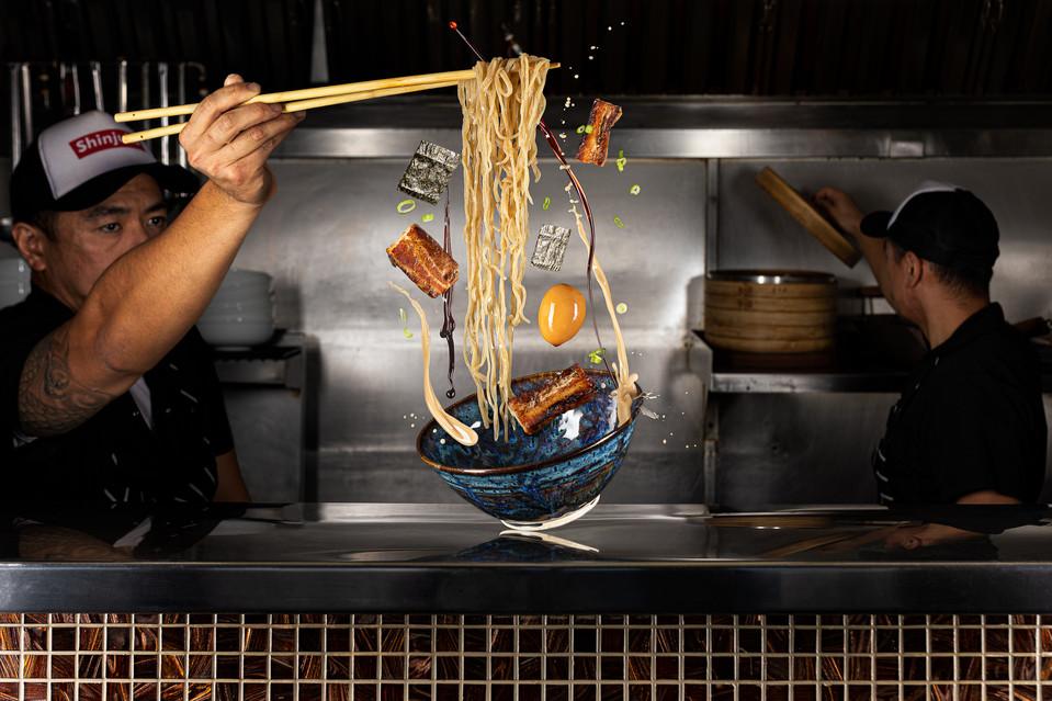 Noodle Splash