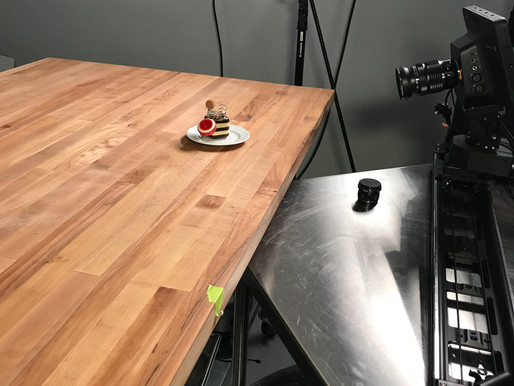 Modernist Pantry studio with videographer Cole Whitney