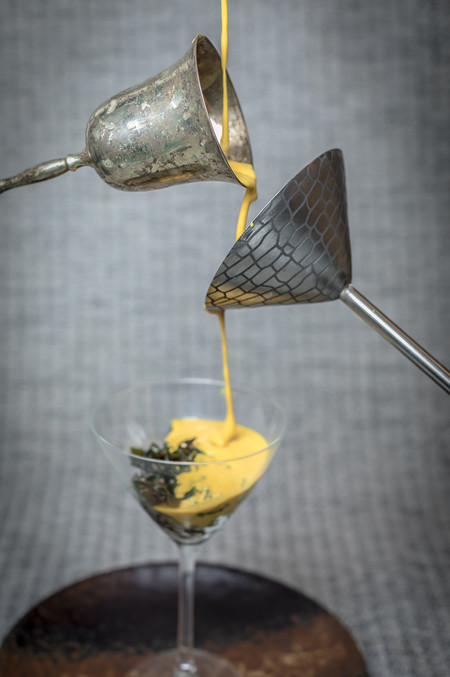 Curried Mussel Soup