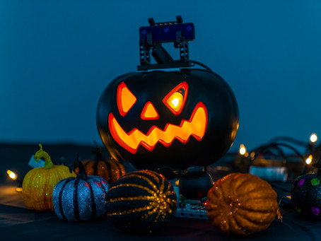 Build Your Own OAK-D-Lite Powered Jack-o'-lantern