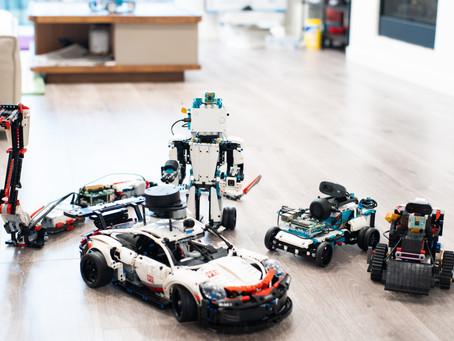 Building A.I. Controlled LEGO Robots