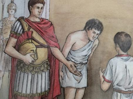 A Triumph for Falvius by Caroline Dale Snedeker