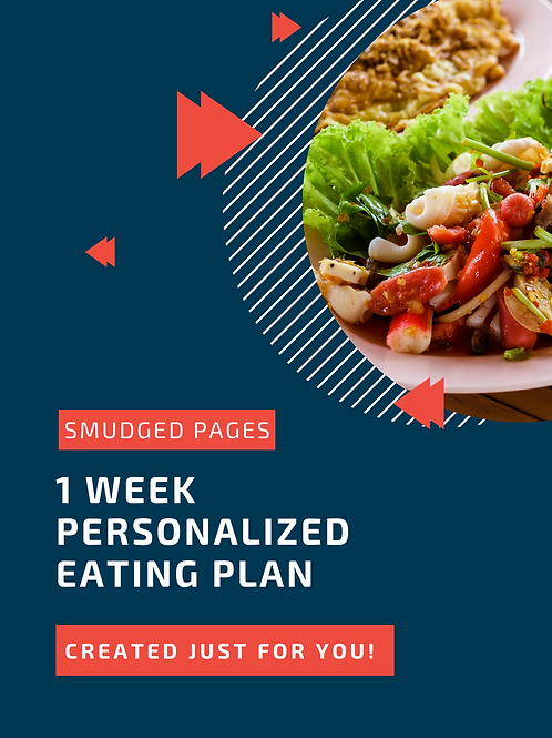 Personalized Eating Plan (1-Week)