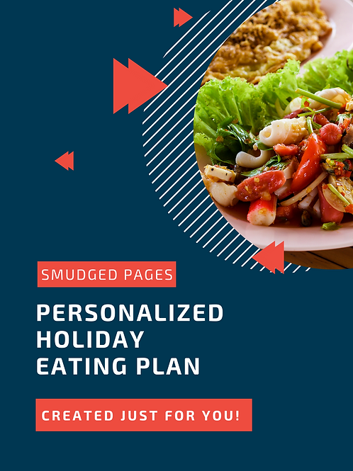 Personalized Eating Plan (Holiday)