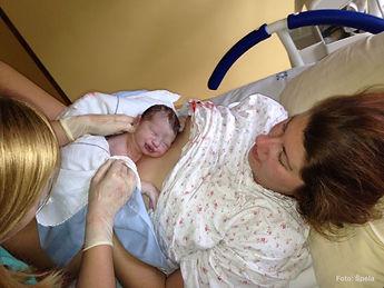 Porod, bolnišnični porod, porod doma, novo rojstvo