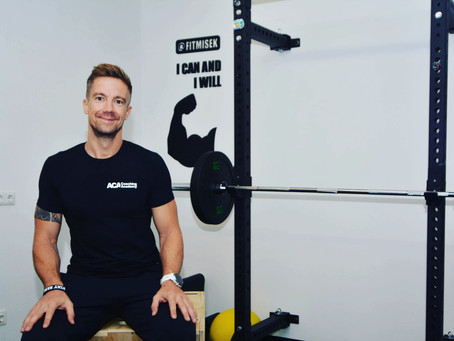NOVO SODELOVANJE: Miha Primožič, specialist športne prehrane, osebni trener in inštruktor za nosečni