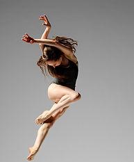 contemporary lyrical dancer, jump