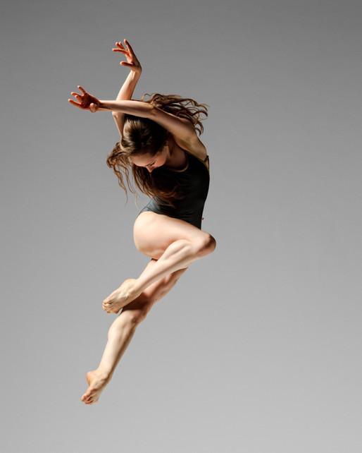 A bailarina e o whey protein