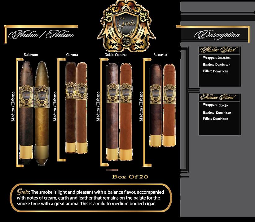 Grata Cigars Brochure