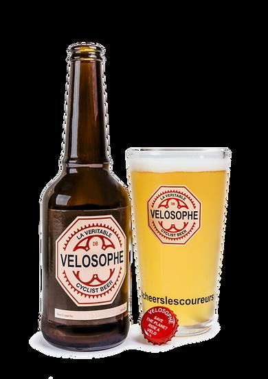 6x verres à bière  Velosophe 30 cl