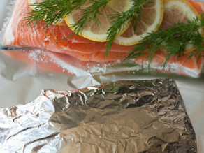 REPURPOSE!  Your Dishwasher: A Steam Clean Cuisine Salmon Recipe