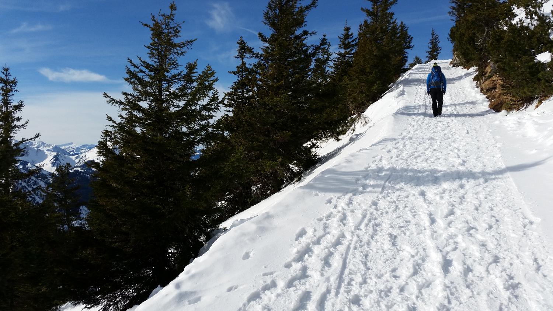 Aufstieg Ostlerhütte