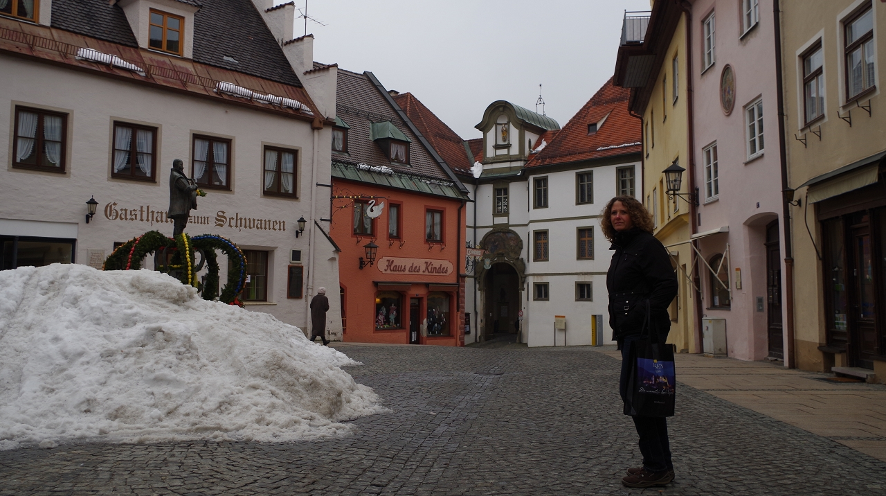 Innenstadt vor dem Museum