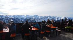 Terrasse der Osterlhütte