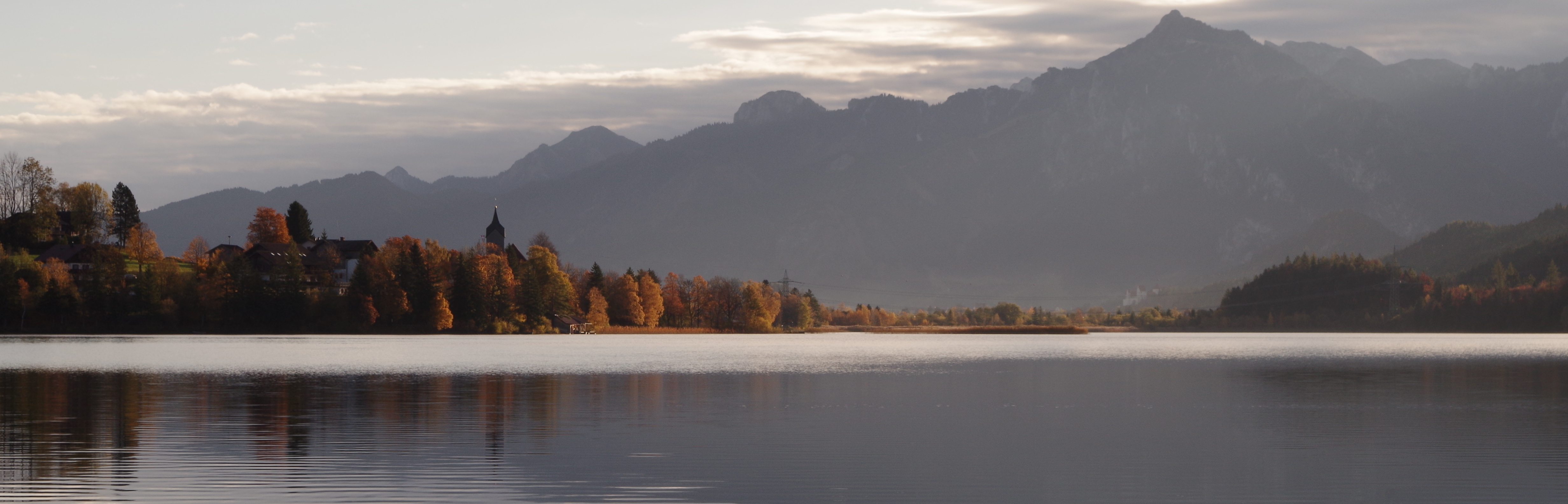 Indian Summer am Weissensee