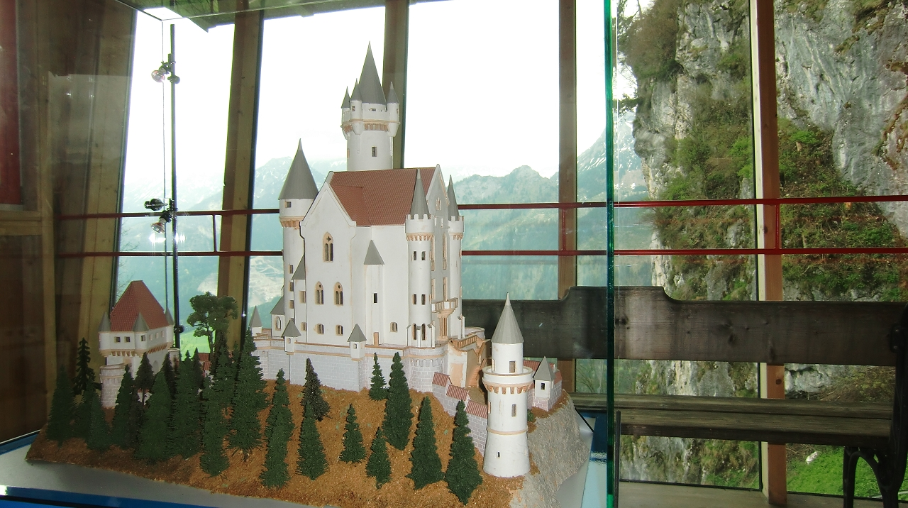 So wollte Ludwig II. hier bauen