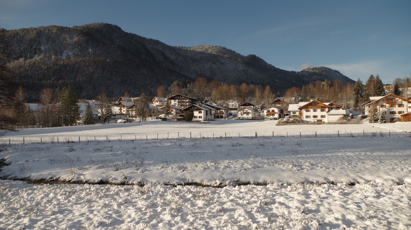 Blick auf Oberkirch und Falkenstein