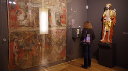 Sakrale Ausstellung im Museum
