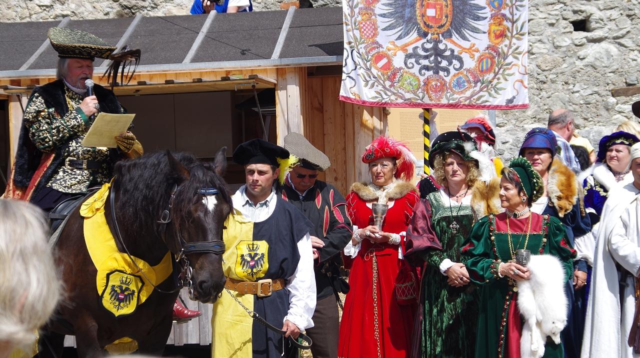 König Maximilians Einritt