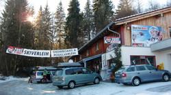Ski-Verleih in unmittelbarer Nähe