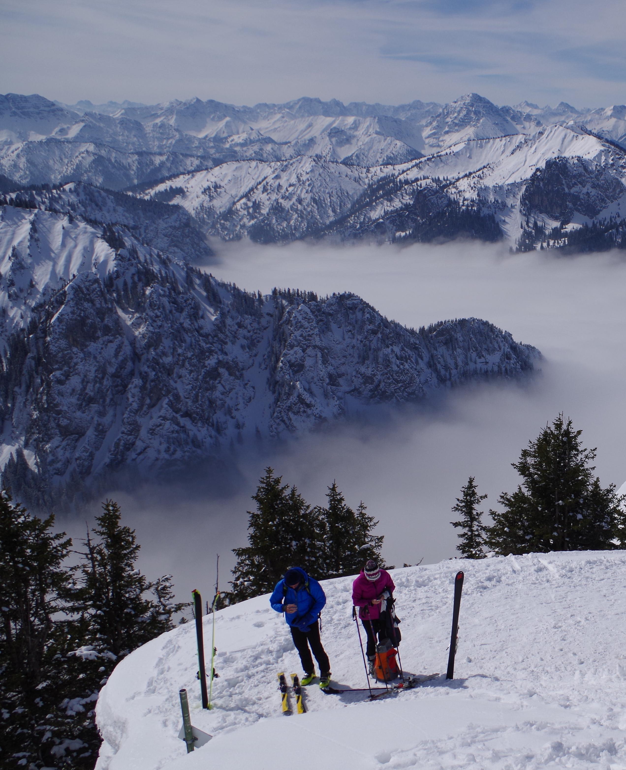 Bergwelt hautnah erleben