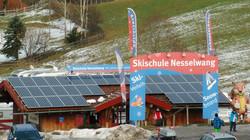 Die Basis an der Alpspitzbahn