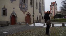 Im Innenhof des Hohen Schlosses