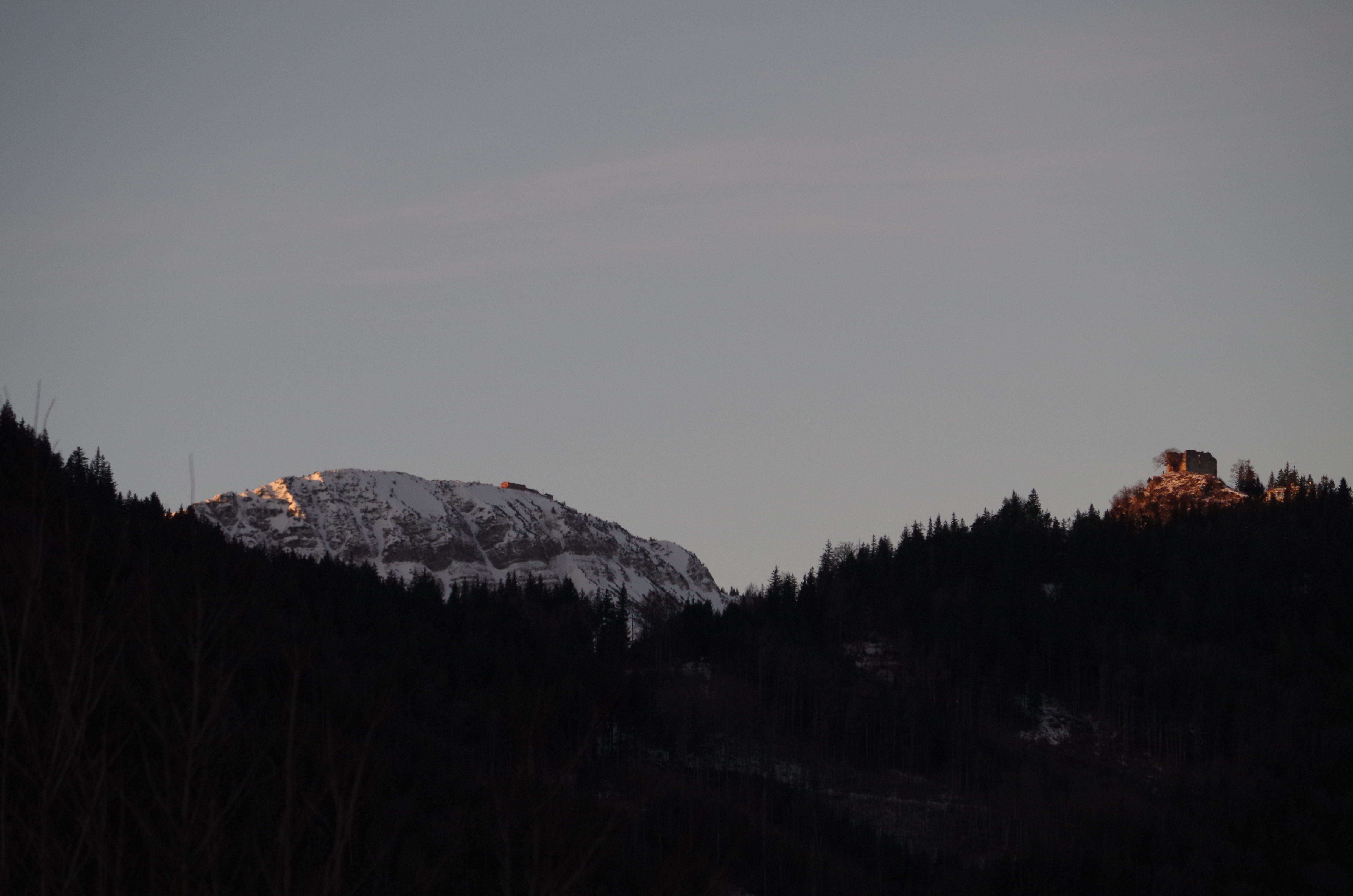 Ostlerhütte und Falkenstein