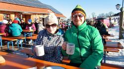 Belohnung nach einem tollen Skitag