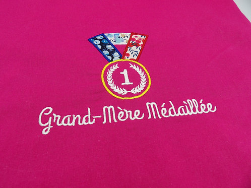 "Tote Bag ""Grand Mère"" - modèle Grand-Mère médaillée"