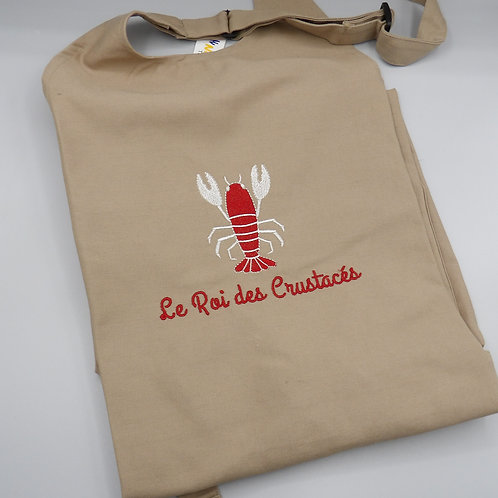 Tablier coton - modèle Roi des Crustacés