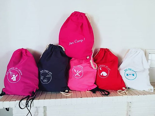 ensemble de sacs de camp version 2